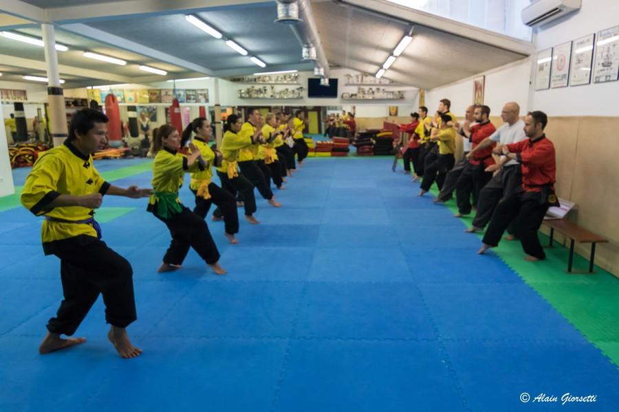 Passage de grades Kung Fu 2015