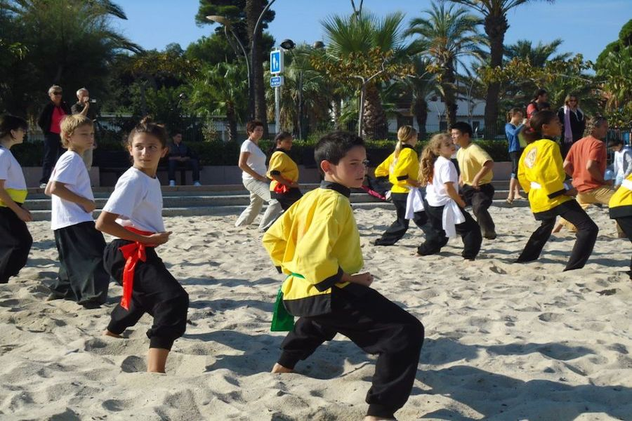Entraînement plage - 16 octobre 2011